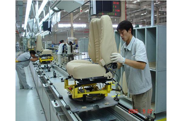 汽车座椅生产线_组装线_苏州乐泽自动化科技有限公司